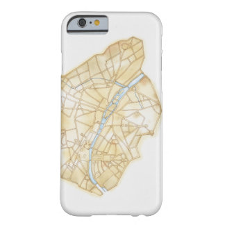 Illustration of streets of Paris during 1789 Barely There iPhone 6 Case