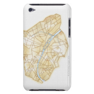 Illustration of streets of Paris during 1789 iPod Touch Cover
