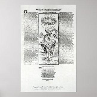 Illustration of Syphilis, 1496 Poster