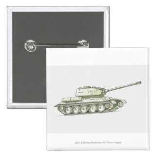 Illustration of tank 2 inch square button