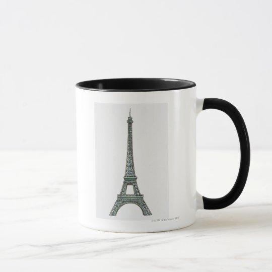Illustration of the Eiffel Tower Mug