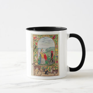 Illustration of the fourth parable mug