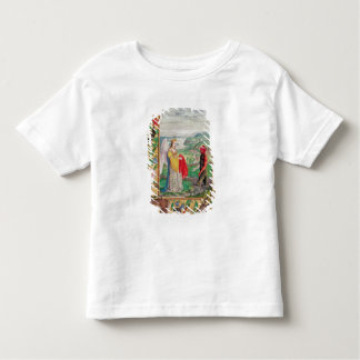 Illustration of the fourth parable toddler t-shirt