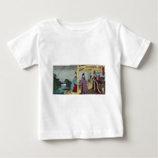 Illustration of the Garden Refreshed after Rain Baby T-Shirt