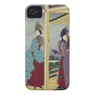 Illustration of the Garden Refreshed after Rain iPhone 4 Case-Mate Case
