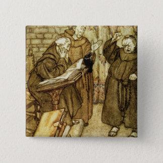 Illustration of 'The Jackdaw of Rheims' Button