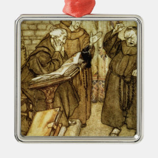 Illustration of 'The Jackdaw of Rheims' Christmas Tree Ornaments