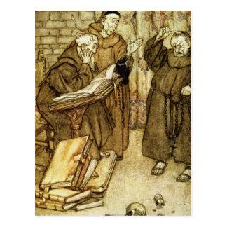 Illustration of 'The Jackdaw of Rheims' Postcard