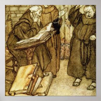 Illustration of 'The Jackdaw of Rheims' Poster