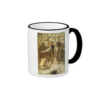 Illustration of 'The Jackdaw of Rheims' Ringer Mug