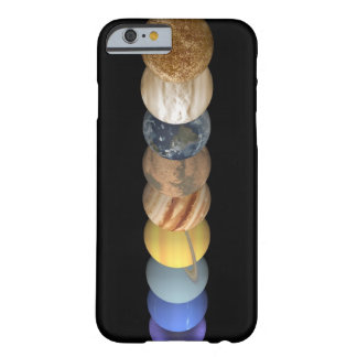 Illustration of the Planets in Alignment Barely There iPhone 6 Case
