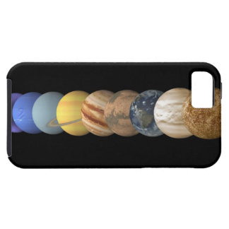 Illustration of the Planets in Alignment iPhone SE/5/5s Case