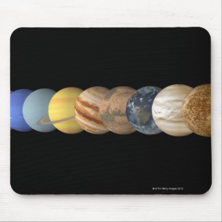 Illustration of the Planets in Alignment Mouse Pad