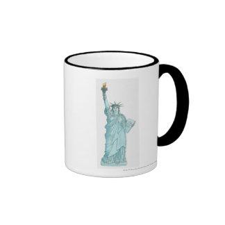 Illustration of the Statue of Liberty Coffee Mug