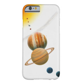 Illustration of the Sun, Mercury, Venus moon Barely There iPhone 6 Case