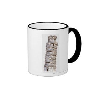 Illustration of the Tower of Pisa Coffee Mug