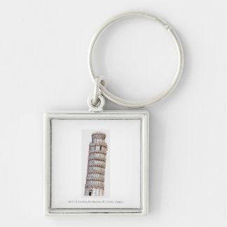 Illustration of the Tower of Pisa Keychain