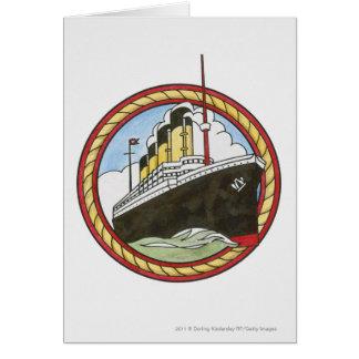 Illustration of Titanic Card