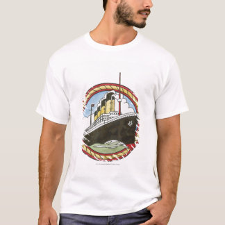 Illustration of Titanic T-Shirt