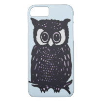 ILLUSTRATION OWL VECTOR iPhone 8/7 CASE