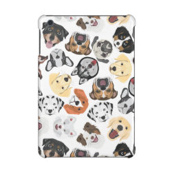 Case Savvy Glossy Finish iPad Mini Retina Case with Golden Retriever Phone Cases design