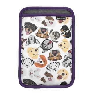 Illustration Pattern Dogs iPad Mini Sleeve