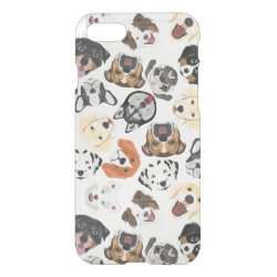 Uncommon iPhone 7 Clearly™ Deflector Case with Collie Phone Cases design
