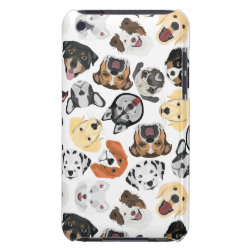 Case-Mate iPod Touch Barely There Case with Bulldog Phone Cases design
