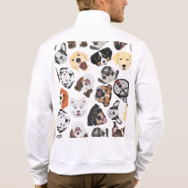 Illustration Pattern Dogs Jacket