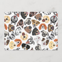 Illustration Pattern sweet Domestic Dogs