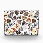 "Illustration Pattern sweet Domestic Dogs Acrylic Award<br><div class=""desc"">Illustration Pattern sweet Domestic Dogs</div>"