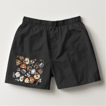 Illustration Pattern sweet Domestic Dogs Boxers