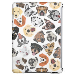 Case Savvy Glossy Finish iPad Air Case with Rottweiler Phone Cases design
