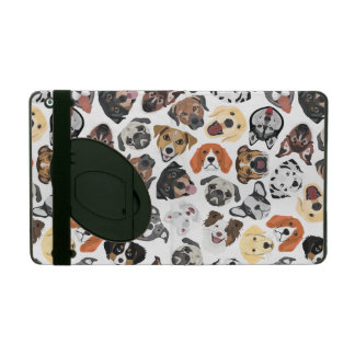 Illustration Pattern sweet Domestic Dogs iPad Cover