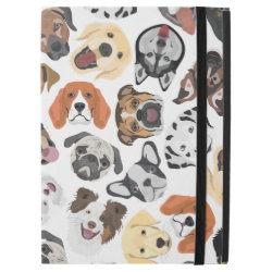 "Illustration Pattern sweet Domestic Dogs iPad Pro 12.9"" Case"