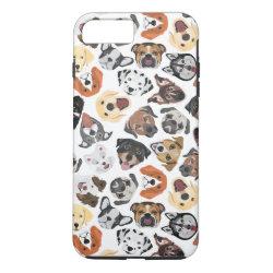 Case-Mate Tough iPhone 7 Plus Case with Collie Phone Cases design