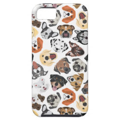 Case-Mate Vibe iPhone 5 Case with Pug Phone Cases design