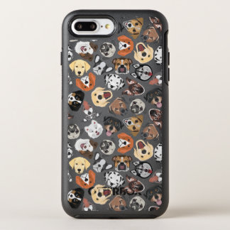 Illustration Pattern sweet Domestic Dogs OtterBox Symmetry iPhone 8 Plus/7 Plus Case