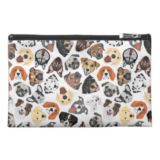 Illustration Pattern sweet Domestic Dogs Travel Accessory Bag