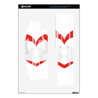 Illustration peace doves with heart PS3 skin