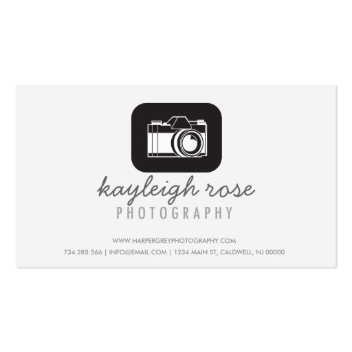 Illustration Photography Business Card