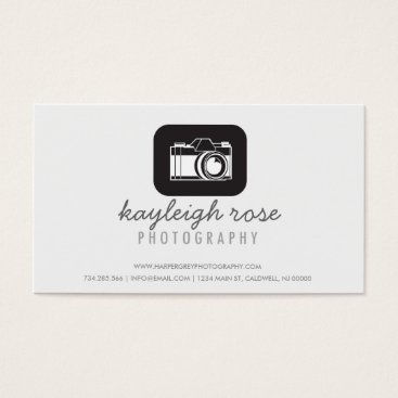 Professional Business Illustration Photography Business Card