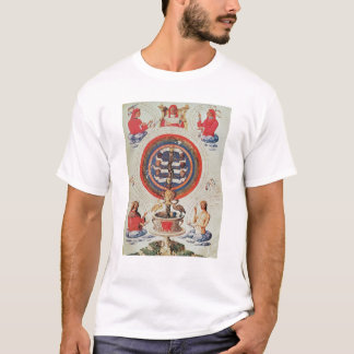 Illustration showing Hermetic Philosophy of T-Shirt