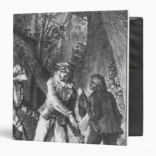 Illustration 'The Doctor In Spite of Himself' Binders