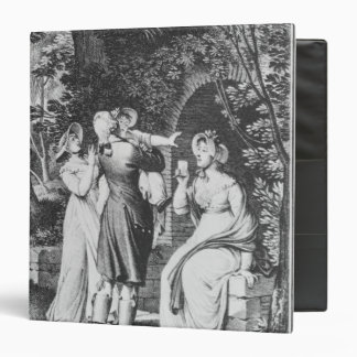 Illustration 'The Sorrows of Werther' by 3 Ring Binder
