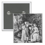 Illustration 'The Sorrows of Werther' by Pinback Buttons