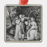 Illustration 'The Sorrows of Werther' by Metal Ornament