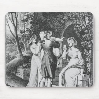 Illustration 'The Sorrows of Werther' by Mouse Pad