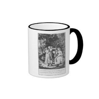 Illustration 'The Sorrows of Werther' by Ringer Coffee Mug
