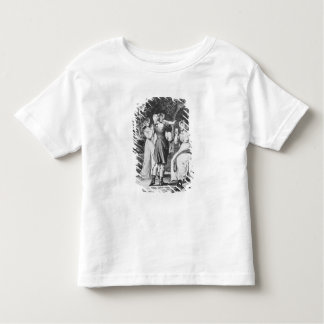 Illustration 'The Sorrows of Werther' by Toddler T-shirt